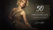 150 پریست لایت روم سینمایی و لات رنگی Film Tone LUTs and Presets Pack