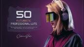 150 پریست لایت روم عکس تکنولوژی آینده Futuristic LUTs and Presets Pack