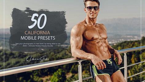 150 پریست لایت روم ورزش تابستانی California Mobile Presets Pack