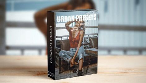 16 پریست لایت روم و پریست کمرا راو فتوشاپ Urban Lightroom Presets