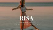 20 افکت رنگی لایت روم حرفه ای Risa Lightroom Presets
