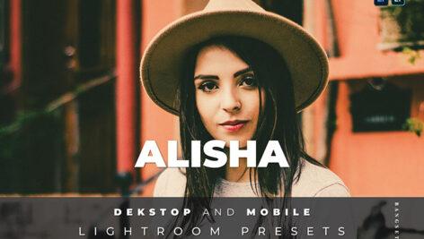 20 افکت رنگی لایت روم دسکتاپ و موبایل Alisha Lightroom Preset