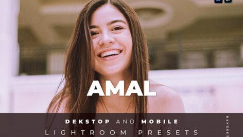 20 افکت رنگی لایت روم دسکتاپ و موبایل Amal Lightroom Preset