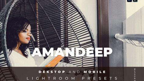 20 افکت رنگی لایت روم دسکتاپ و موبایل Amandeep Lightroom Preset