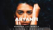 20 افکت رنگی لایت روم عکس پرتره Aryanti Lightroom Preset