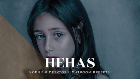 20 پریست لایت روم تم رنگ تیره Hehas Lightroom Presets