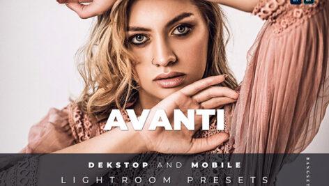 20 پریست لایت روم حرفه ای ادیت عکس Avanti Lightroom Preset