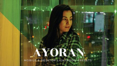 20 پریست لایت روم حرفه ای جدید Ayoran Lightroom Presets