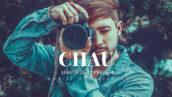 20 پریست لایت روم حرفه ای عکاسی Chau Lightroom Presets