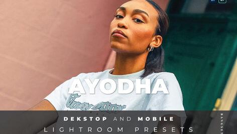 20 پریست لایت روم رنگی تم رنگی مدلینگ Ayodha Lightroom Preset