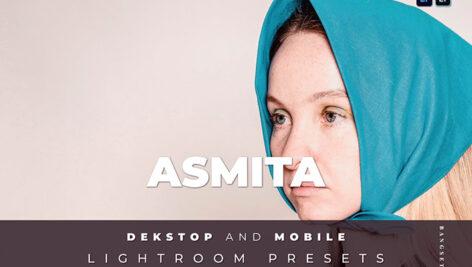 20 پریست لایت روم رنگی سینماتیک Asmita Lightroom Preset