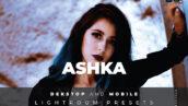 20 پریست لایت روم رنگی عکس فشن Ashka Lightroom Preset