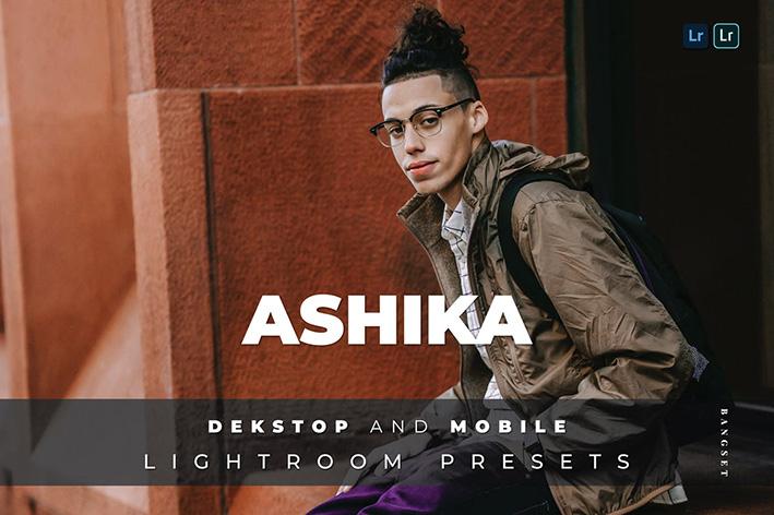 20 پریست لایت روم رنگی عکس مدلینگ Ashika Lightroom Preset