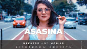 20 پریست لایت روم رنگی عکس پرتره Asasina Lightroom Preset