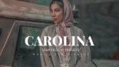 20 پریست لایت روم رنگی فشن حرفه ای Carolina Lightroom Presets