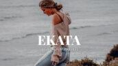 20 پریست لایت روم رنگی فشن حرفه ای Ekata Lightroom Presets