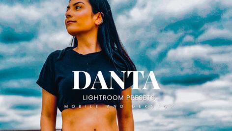 20 پریست لایت روم رنگی پرتره حرفه ای Danta Lightroom Presets