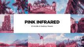 20 پریست لایت روم صورتی و کمرا راو و لات رنگی Pink Infrared Lightroom Presets