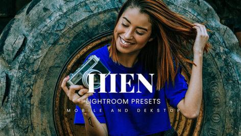 20 پریست لایت روم عکاسی حرفه ای Hien Lightroom Presets