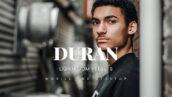 20 پریست لایت روم عکس فشن مردانه Duran Lightroom Presets