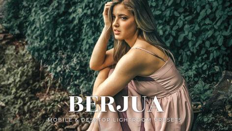 20 پریست لایت روم عکس پرتره فضای باز Berjua Lightroom Presets