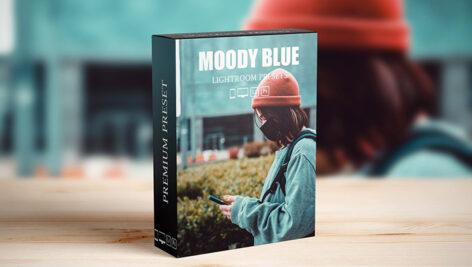 20 پریست لایت روم و پریست کمرا راو فتوشاپ تم آبی Moody Blue Lightroom Presets