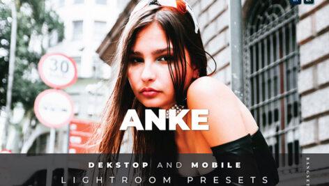 20 پریست لایت روم پرتره حرفه ای Anke Lightroom Preset