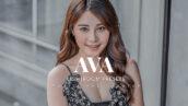 20 پریست لایت روم پرتره حرفه ای Ava Lightroom Presets