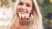 20 پریست لایت روم پرتره عاشقانه Yura Lightroom Presets