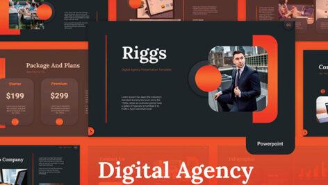 35 قالب پاورپوینت و گوگل اسلایدر تم شرکت دیجیتال مارکتینگ Digital Agency Powerpoint Templates