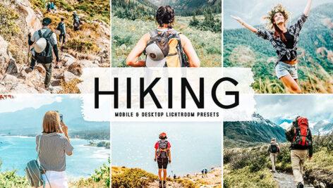 40 پریست لایت روم طبیعت و پریست کمرا راو و اکشن فتوشاپ Hiking Lightroom Presets