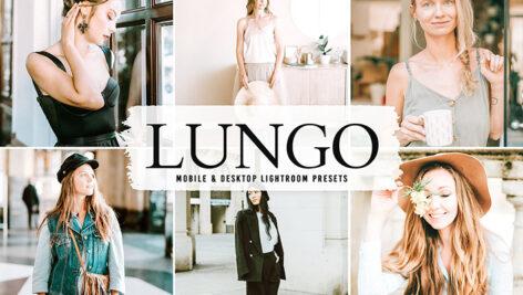 40 پریست لایت روم پرتره و پریست کمرا راو و اکشن فتوشاپ Lungo Lightroom Presets