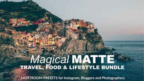 42 پریست لایت روم مات رنگی حرفه ای Magical MATTE Lightroom Presets