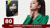 80 پریست لایت روم حرفه ای تم رنگی سینمایی Pro Tones Lightroom Bundle