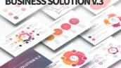 قالب پاورپوینت اینفوگرافیک حرفه ای Business Solution V.3 PowerPoint Infographics