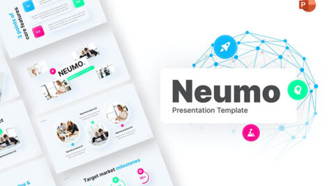 قالب پاورپوینت حرفه ای مدرن و تجاری Neumo General PowerPoint Presentation