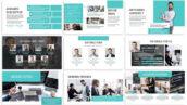 قالب پاورپوینت و گوگل اسلایدر تم تجارت Assistant Business Template Prensentation