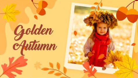 پروژه آماده افتر افکت اسلایدشو تم پاییز رمانتیک Autumn Romantic Slideshow