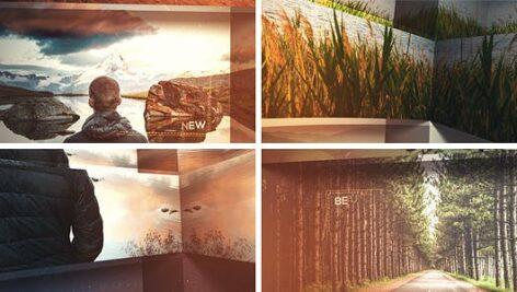 پروژه آماده افتر افکت اسلاید شو 3 بعدی با موزیک Elegant 3D Slideshow