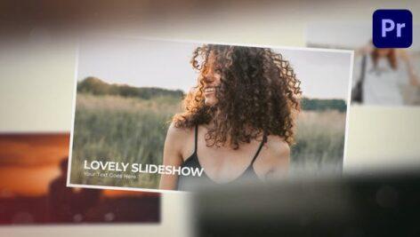 پروژه آماده پریمیر اسلایدشو مدرن با موزیک Inspiring Photo Slideshow