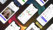 پروژه افتر افکت با موزیک تبلیغات اپلیکشن موبایل App Promo