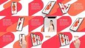 پروژه افتر افکت تبلیغات برنامه موبایل Quick Mobile App Promo