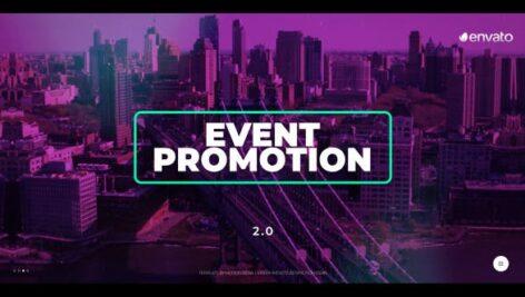 پروژه افتر افکت رزولوشن 4K تبلیغات همایش Event Promotion