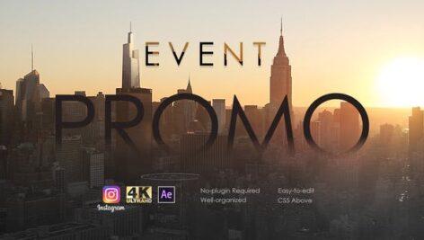 پروژه افتر افکت رزولوشن 4K تبلیغات کنفرانس Event Promo