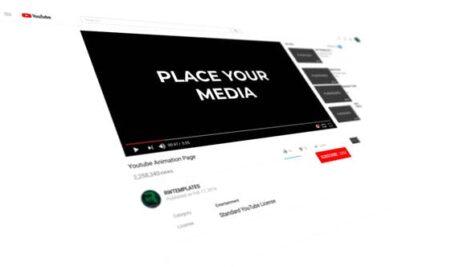 پروژه افتر افکت عضویت کانال یوتیوب با موزیک Subscribe To The YouTube Channel Intro