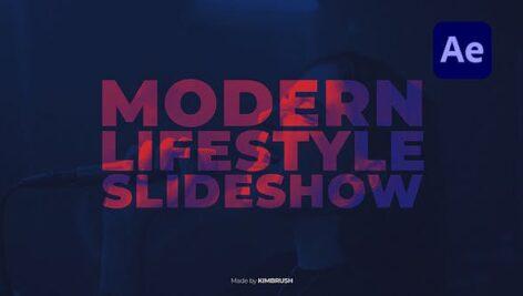 پروژه افتر افکت 2021 تیتراژ با موزیک تم سبک زندگی Modern Lifestyle