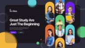 پروژه افتر افکت 2021 حرفه ای با موزیک معرفی موسسات آموزشی Colorful Education Promo