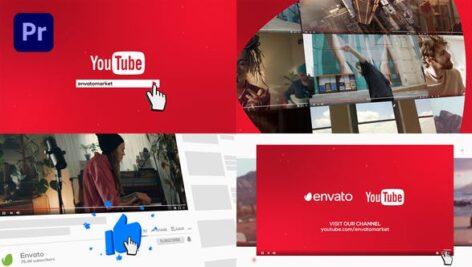پروژه پریمیر با موزیک تبلیغات کانال یوتیوب YouTube Promo for Premiere Pro