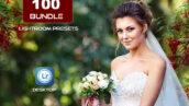 100 پریست لایت روم آپدیت 2021 عروسی و پرتره Lightroom Presets Bundle