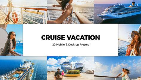 120 پریست لایت روم تم سفر دریایی Cruise Vacation Lightroom Presets